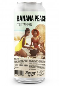 Banana Peach Fruit Weizen